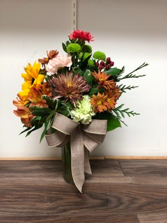 Autumn celebration  Vase arrangement