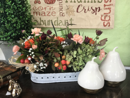 Autumn Chic Vase Arrangement