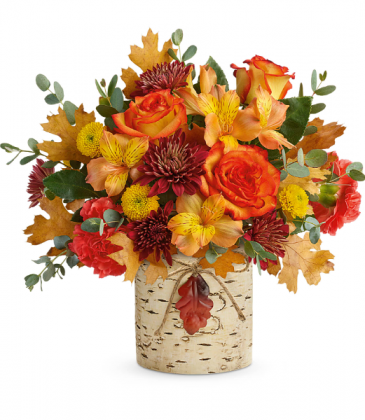 Autumn Colors Bouquet (Container may vary) All-Around Floral Arrangement
