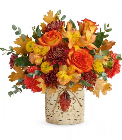 Autumn Colors Bouquet  All-Around Floral Arrangement