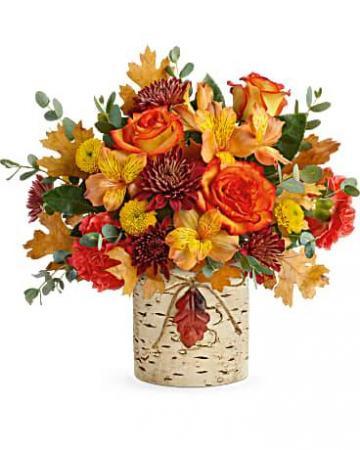 Autumn Colors Bouquet Fall