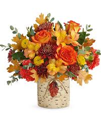 Autumn Colors Bouquet Fall Arrangement