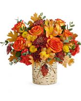 Autumn Colors  Vase Arrangement