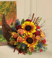 Autumn Cornucopia Arrangement