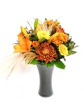 Autumn Crush Vase Arrangement