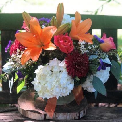 Autumn Blaze flower arrangement