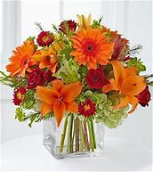 Autumn Delight Floral Arrangment in Colorado Springs, CO | ENCHANTED FLORIST II