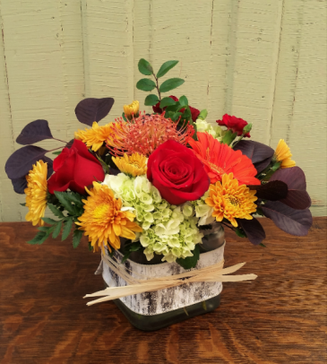 Autumn Delight Vase Arrangement