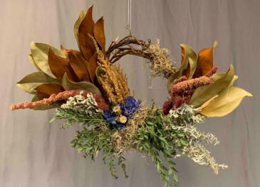 Autumn Dry Wreath Wreath