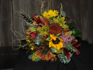 Autumn Embrace Wedding Flowers in Herndon, PA | BITTERSWEET DESIGNS BY LORRIE