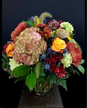 Autumn Equinox Vased in Chesterfield, MO | ZENGEL FLOWERS AND GIFTS