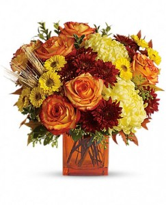Autumn Expression Fall Flower Arrangement in Burbank, CA | MY BELLA FLOWER