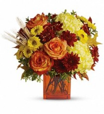 Autumn Expression  Vase Arrangement