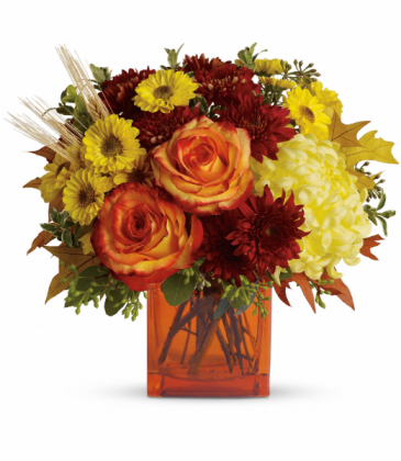 Autumn Expression All-Around Floral Arrangement