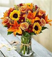 Thankful Harvest Floral arrangment