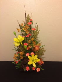 Autumn Fireworks Artistic Arrangement