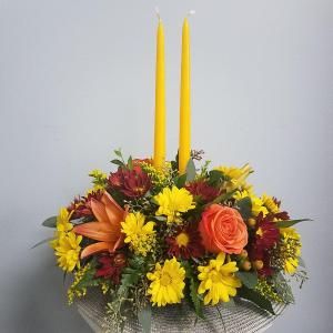 Autumn Floral  Centerpiece in Saint Simons Island, GA | A COURTYARD FLORIST