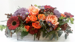 Autumn  Garden medium box in Northport, NY | Hengstenberg's Florist