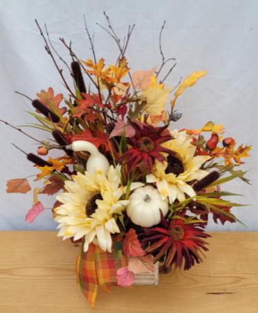 Autumn Gathering Silk Arrangement