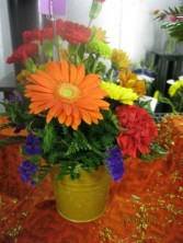 Autumn Gerber Bouquet Fresh Floral Arrangement