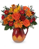Autumn Glaze Bouquet Flower Arrangement