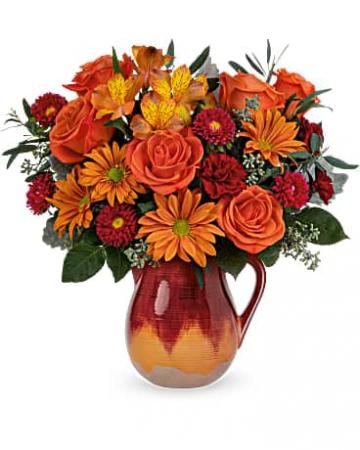 Autumn Glaze Bouquet Keepsake arrangement