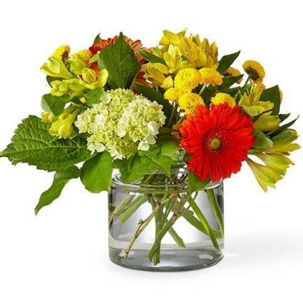 Autumn Glow Bouquet - 21-F1