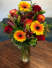Autumn Glow  Vase Arrangement