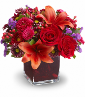 Autumn Grace All-Around Floral Arrangement