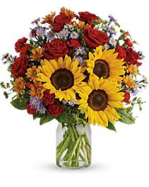 Autumn Happiness Vase arrangement