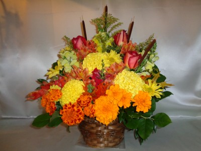 Happy Harvest Floral Arrangement