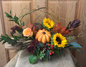 Autumn Harvest T&V Original in Appleton, WI | TWIGS & VINES FLORAL