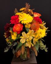 Autumn Harvest Vased