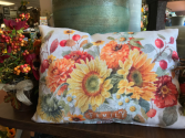 Autumn in Bloom Pillow Pillows