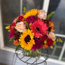 Autumn In New York Bouquet