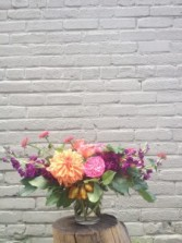 Jewel Autumn Vase Arrangement