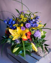 Autumn Jewels Vase Arrangment