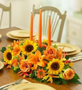 Elegant Fall Centerpiece