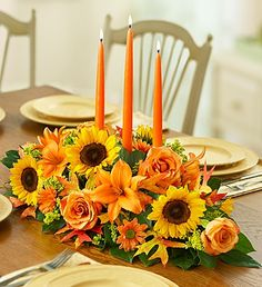 Elegant Fall Centerpiece in Vernon, NJ | HIGHLAND FLOWERS