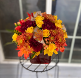 Autumn Leaves Bouquet