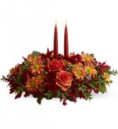 Autumn Lights                     TF-WEB-456 Fresh candle arrangement