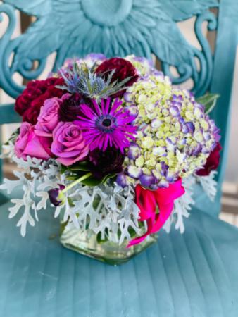 Autumn Love  Vase arrangement
