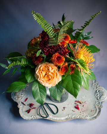 Autumn Magic Vase Arrangement