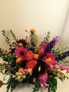 Autumn Meadow centerpiece in Northport, NY | Hengstenberg's Florist