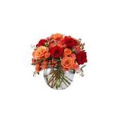 autumn medley floral arrangement