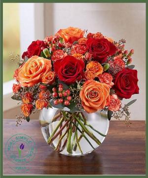 Autumn Medley Item #159215 in Arlington, TX   Erinn's Creations Florist