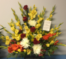 Autumn Memories Sympathy Arrangment