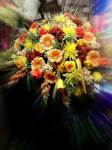 Autumn Morning Casket Spray  in Fair Lawn, NJ | Dietch's Florist