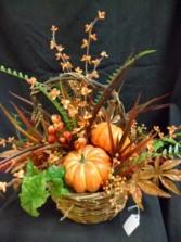 Autumn Pickings Silk Floral Arrangement