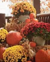 Fall Porch Decoration Package Fall Special available Sept. 16-Nov.1